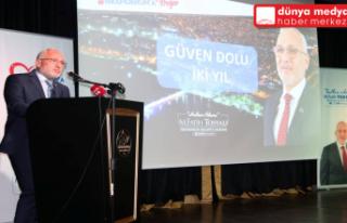 Başkan Tosyalı Belediyenin 2 yıllık Faaliyetlerini...