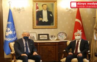 BM Genel Kurul Başkanı Volkan Bozkır Hatay'da!