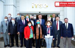 İTSO'DA Türk Dünyası ile İstişare Toplantısı...