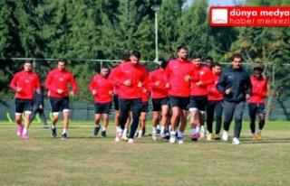 Atakaş Hatayspor Denizlispor maçınının hazırlıklarına...