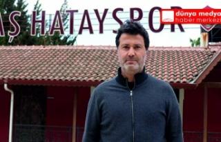 Atakaş Hatayspor Sportif Direktörü Fatih Kavlak...