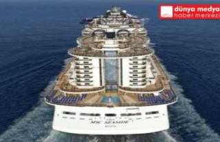 Dünyanın en büyük yolcu gemisi İskenderun'a...