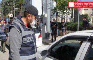 Hatay'da 300 polisle   asayiş uygulaması