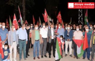 Hatay'da İsrail Saldırıları Protesto Edildi!