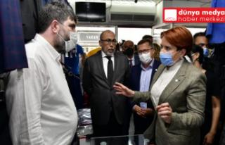 İYİ PARTİ LİDERİ MERAL AKŞENER HATAY'DA ESNAFI...