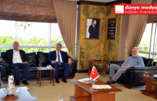 SGK Hatay İl Müdürü Hamit Bal İTSO'yu Ziyaret...