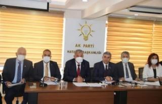 """Ak Parti Hatay Il Başkanı Yeşildal: """"Hatay..."""