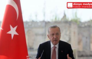 CUMHURBAŞKANI ERDOĞAN AZERBAYCAN MECLİSİ'NE...