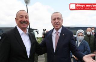 CUMHURBAŞKANI ERDOĞAN'DAN ŞUŞA'YA TARİHİ...