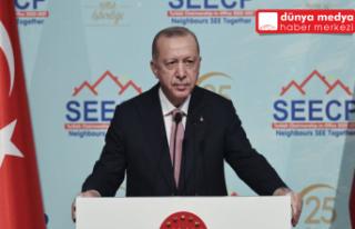 Cumhurbaşkanı Recep Tayyip Erdoğan'dan Antalya...