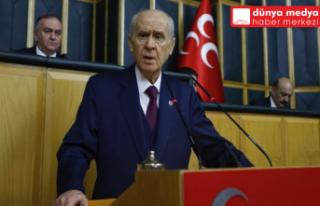 MHP LİDERİ BAHÇELİ'DEN ÜNİVERSİTE SINAVI...