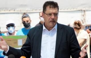 AB Komiseri Lenarcic Reyhanlı'da İncelemelerde...