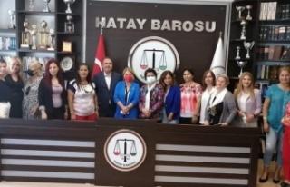 CHP Kadın Kolları ile Hatay Barosu Arasında Yaşam...