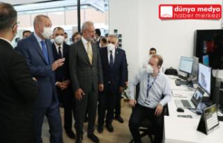 Cumhurbaşkanı Erdoğan Sakarya'daki Tank Palet...