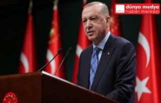 Cumhurbaşkanı Erdoğan'dan Kabine Toplantısı...
