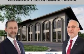 İskenderun'da Kütüphane Projesi Basına Tanıtıldı!