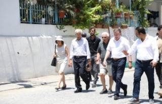 LÜTFÜ SAVAŞ ARSUZ'DAKİ ÇALIŞMALARI YERİNDE...