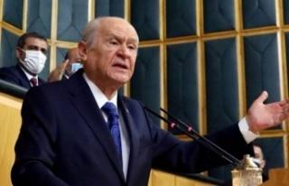 MHP lideri Bahçeli'den İçişleri Bakanı Süleyman...