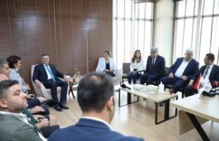 CHP GENEL SEKRETERİ BÖKE HATAY'DA