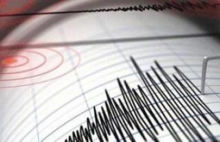 Antalya açıklarında 4.5 büyüklüğünde deprem