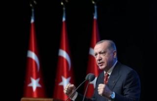 Cumhurbaşkanı Recep Tayyip Erdoğan ABD'ye...