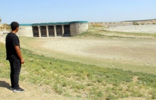 Hatay'da kuraklık Yarseli Barajı'nı vurdu