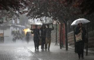 Meteoroloji'den Hatay için kuvvetli yağış...