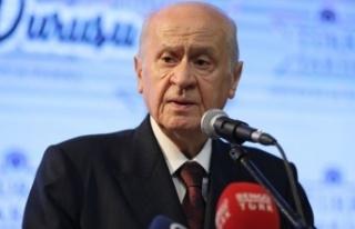 MHP lideri Bahçeli'den   HDP tepkisi