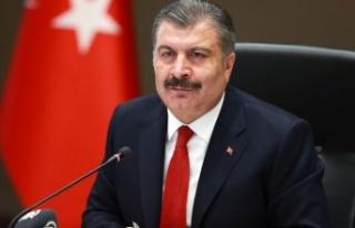 Sağlık Bakanı Fahrettin Koca önemli açıklamalarda...