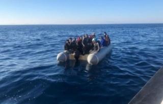 Yunanistan unsurlarının geri ittiği 197 göçmen...