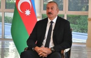 Azerbaycan Cumhurbaşkanı Aliyev'den İran'a...