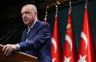 Cumhurbaşkanı Erdoğan'dan market açıklaması