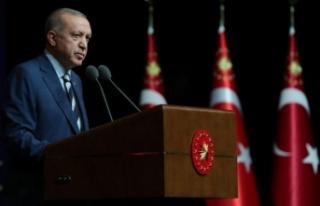 Cumhurbaşkanı Erdoğan'dan mesleki eğitimde...