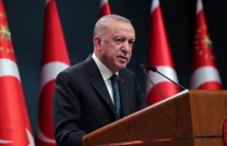 Cumhurbaşkanı Recep Tayyip Erdoğan'dan önemli...