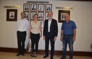 DASİFED Başkanı Gülay Gül İTSO'yu Ziyaret...