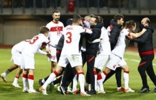 Letonya: 1 - Türkiye: 2   MAÇ SONUCU