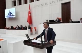 MHPLİ KAŞIKÇI TBMM'DE DOĞAL AFETLERLE İLGİLİ...