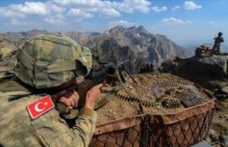 MSB: Terör örgütü PKK/KCK'ya Irak'ın kuzeyinde...