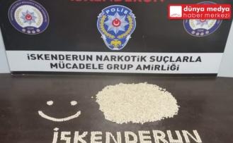 İskenderun'da Bir Otomobilden 5 Bin 700 Adet Uyuşturucu Hap Çıktı!
