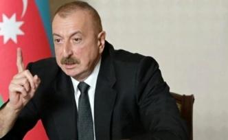 """""""Kendileri itiraf etti"""" diyen Aliyev duyurdu"""