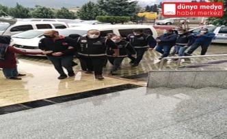 Hatay'da Suç Örgütü Üyesi 3 Kişi Tutuklandı!