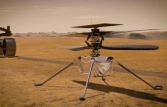 İlk Mars helikopteri Ingenuity motorları çalıştırıyor