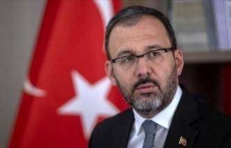 Gençlik ve Spor Bakanı Mehmet Muharrem Kasapoğlu, koronavirüse yakalandı
