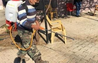 Kumlu Belediyesi İlaçlama Çalışmalarını Sürdürüyor!