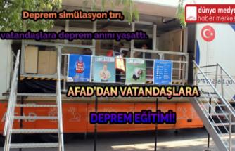 Afad'dan Vatandaşlara Deprem Eğitimi!