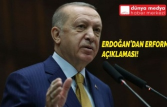 Erdoğan'dan Reform Açıklaması!