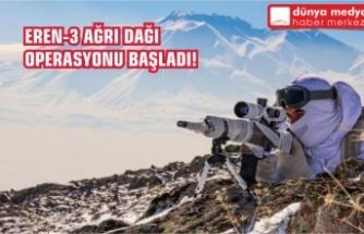 Eren-3 Ağrı Dağı Operasyonu Başladı!