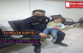 Erzin'de Kaybolan Çocuğu Zabıta Buldu!