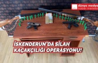 İskenderun'da Silah Kaçakçılığı Operasyonu!