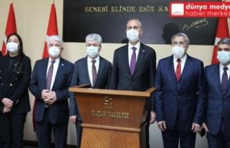Adalet Bakanı Gül Hatay'da!